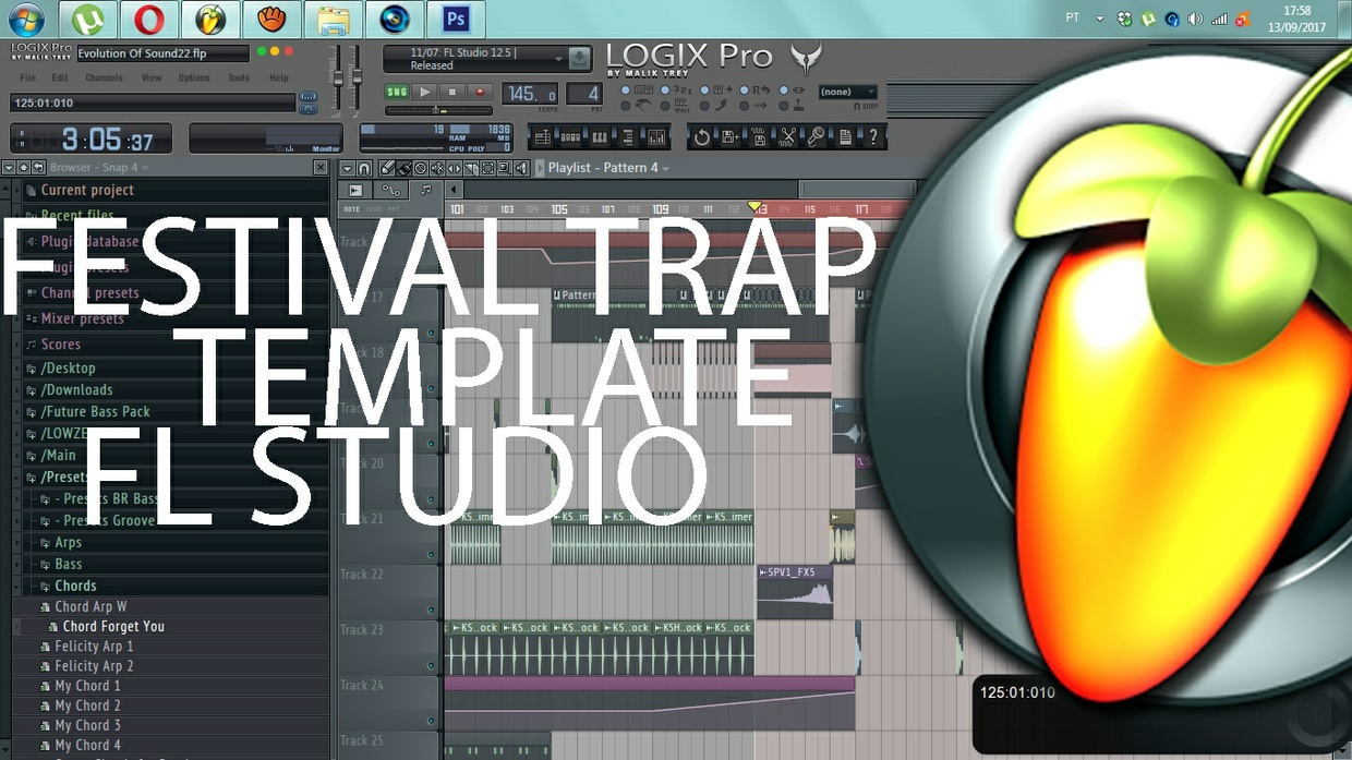 FESTIVAL TRAP TEMPLATE - FL STUDIO