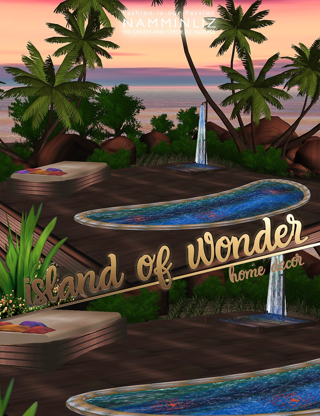 Island of wonder 22 Texture PNG imvu Home Decor
