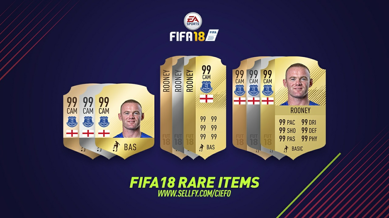 FIFA 18 RARE ITEMS