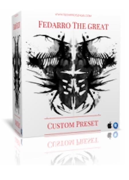 Fedarro The Great (Pro Tools Preset Template)
