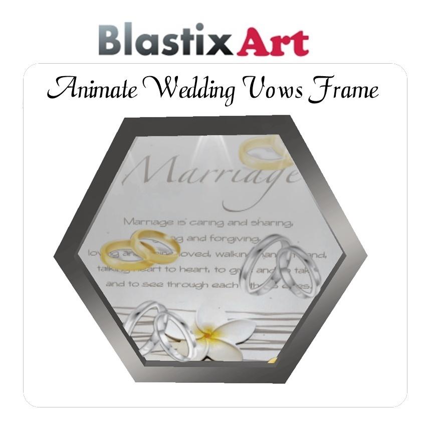 Animated Wedding Vopw  frame