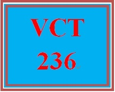 VCT 236 Entire Course