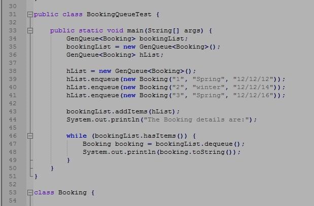 Algorithms and Data Types - RESIT CASE STUDY Eldora-do Holidays Booking System