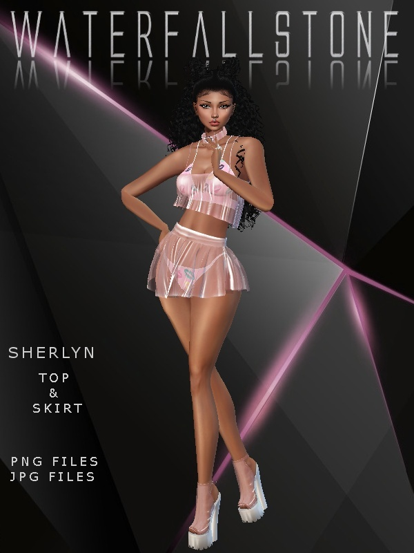 Sherlyn (Top&Skirt)