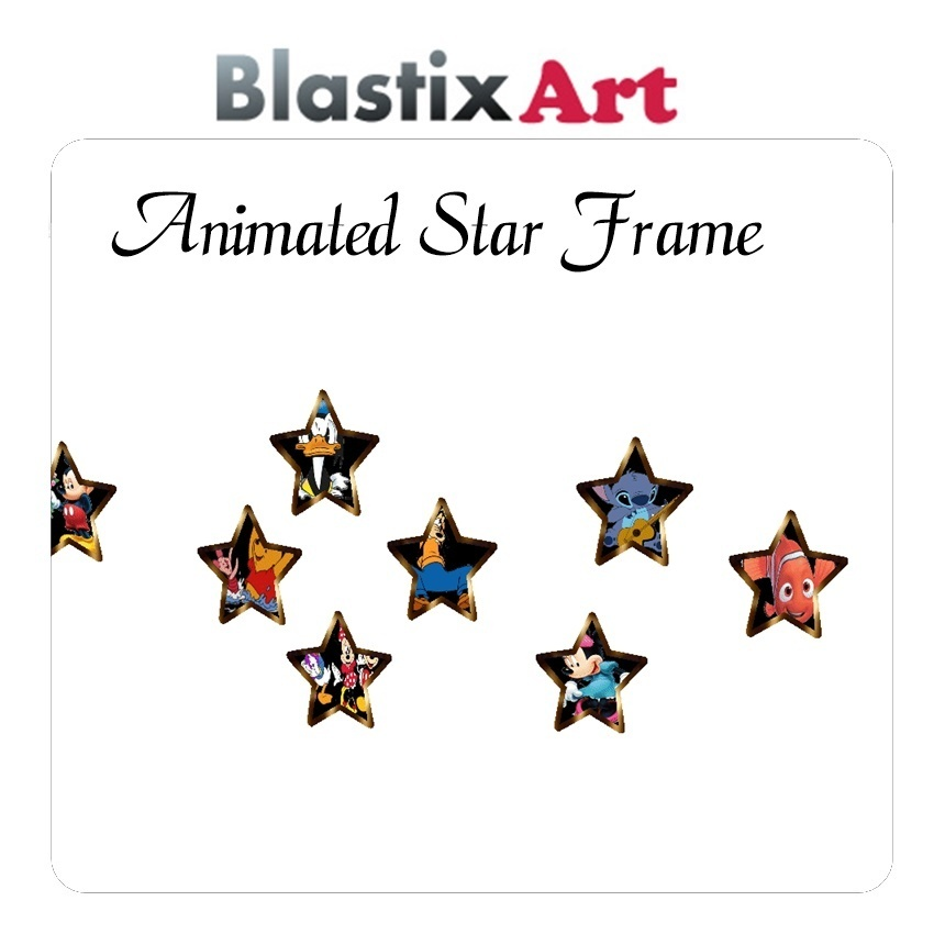 Animated  star Frame
