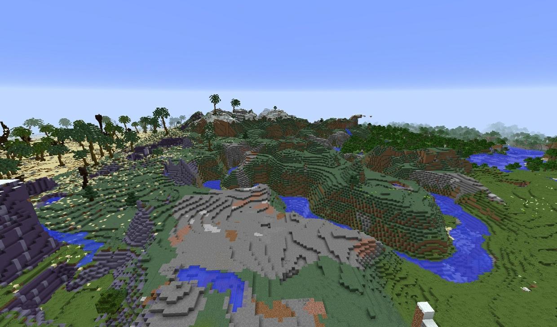 1k x 1k fantasy desert warzone!