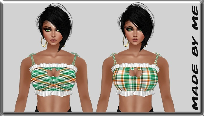 Leaf Autumn Crop Top Catty Only!!!