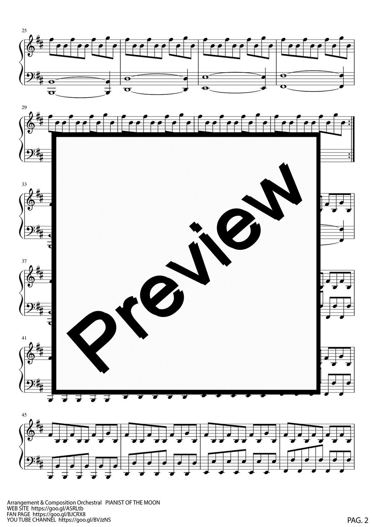 Halloween Theme Pianoforte
