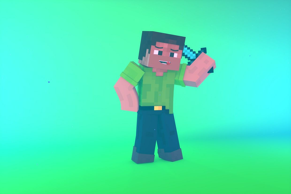 Minecraft Render : LIght Edition