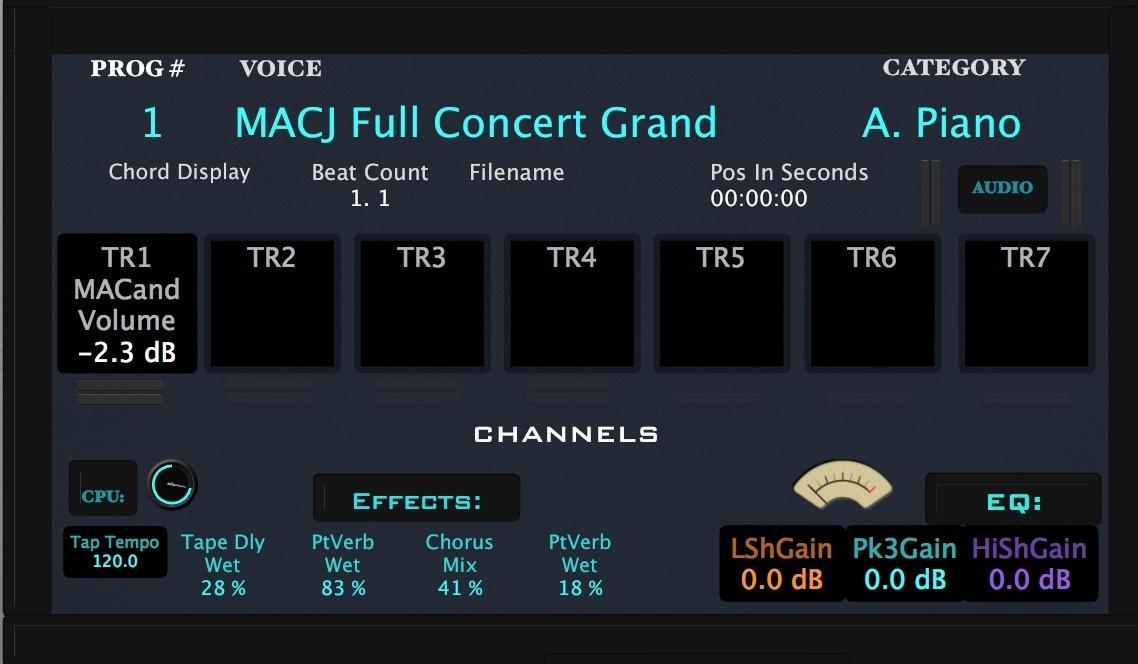 M.A.C.J OPUS MS8 Performance Rack