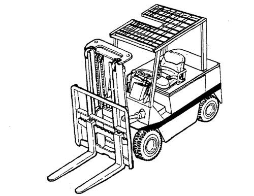 Mitsubishi FBC15-30 Forklift Trucks Service Repair Manual Download
