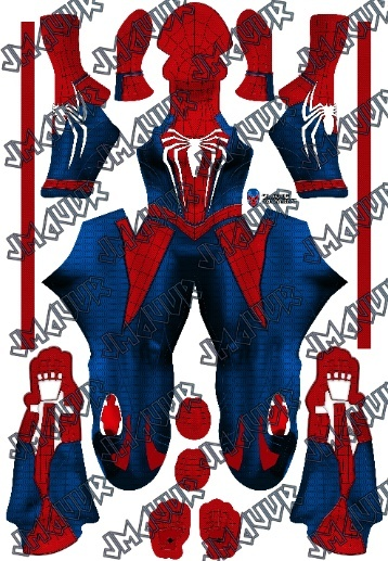 Insomniac Spider-woman PS4