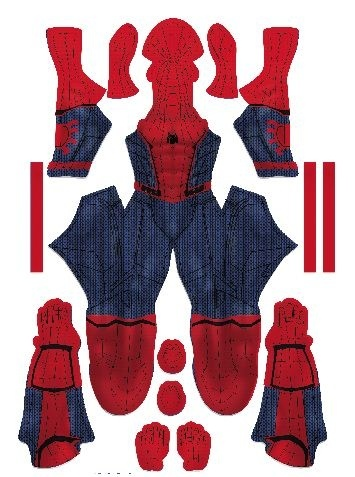 Homecoming Spiderman 2017 movie  (MUSCLE SHADE versions)