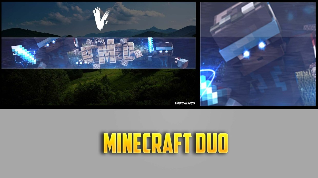 Minecraft Banner + Profile Picture Duo