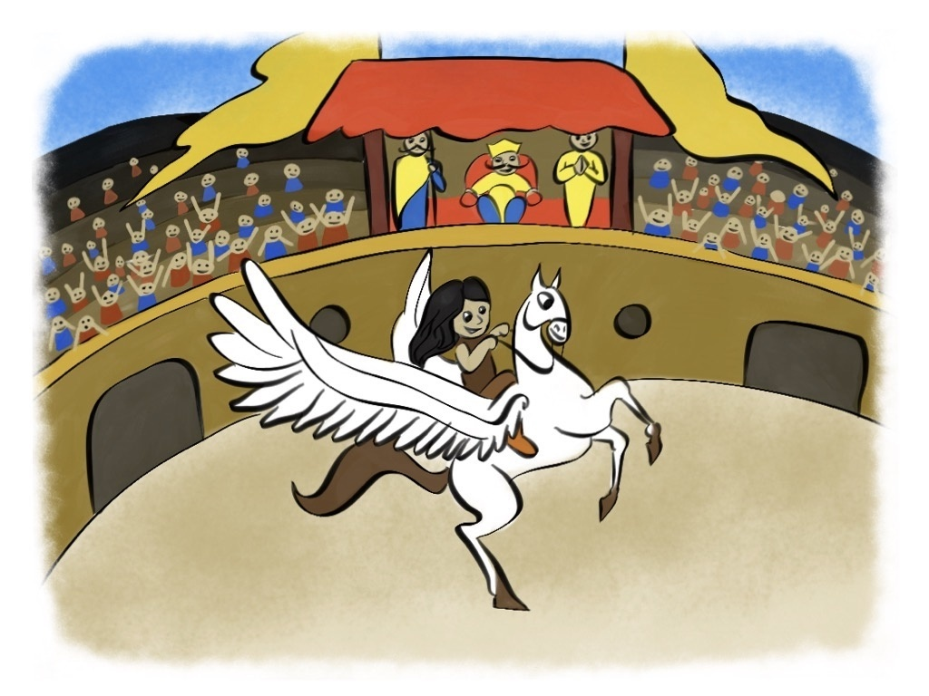 Jazzlyn and the Pegasus Contest