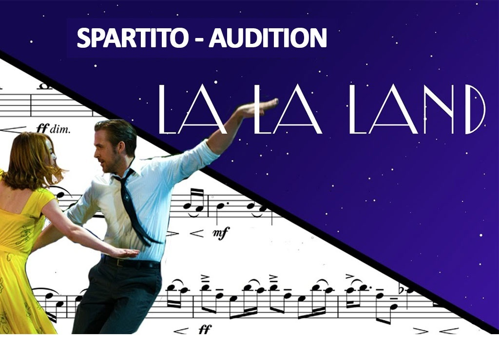 The Fools Who Dream, Audition - Spartito La La Land