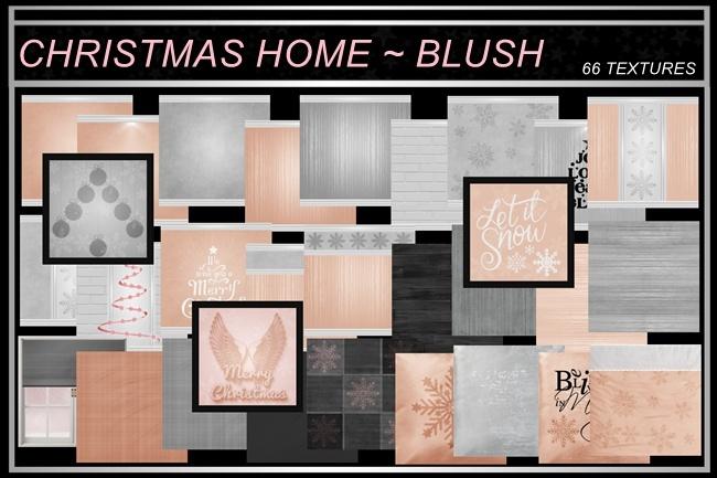 CHRISTMAS AT HOME~ BLUSH