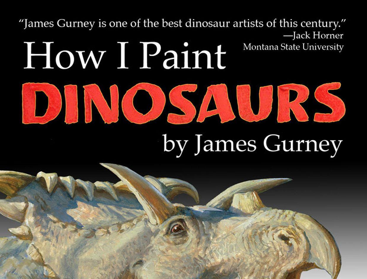 How I Paint Dinosaurs