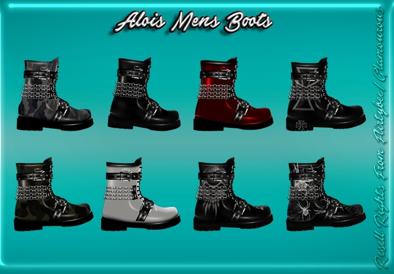 Alois Male Boots Catty Only!!!!