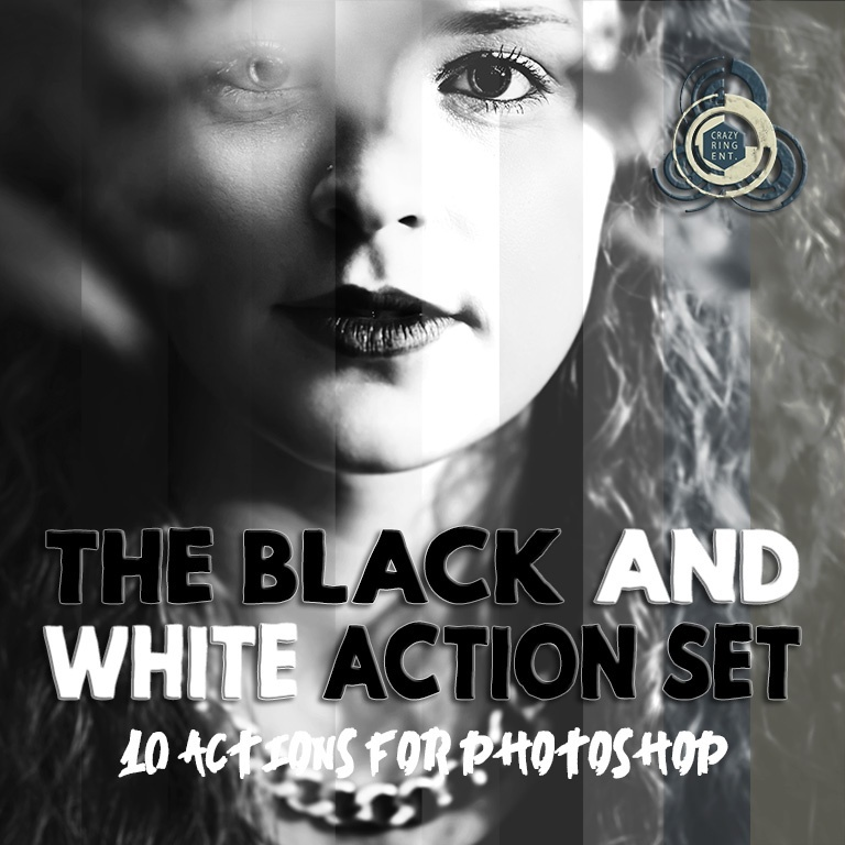 Black & White Action Set - 10 Azioni per Photoshop