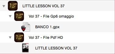LITTLE LESSON VOL 37 - Format Pdf (in omaggio file Gp6)