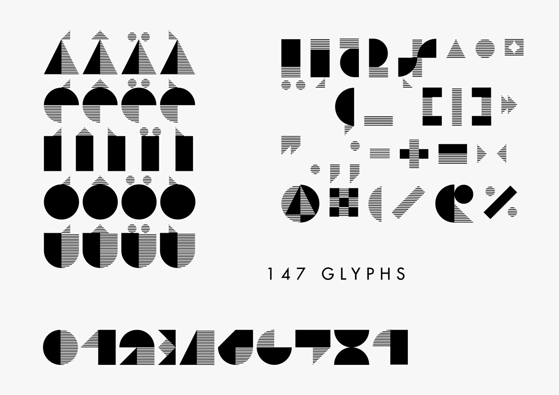 STIJLA Bauhaus-like font FREE
