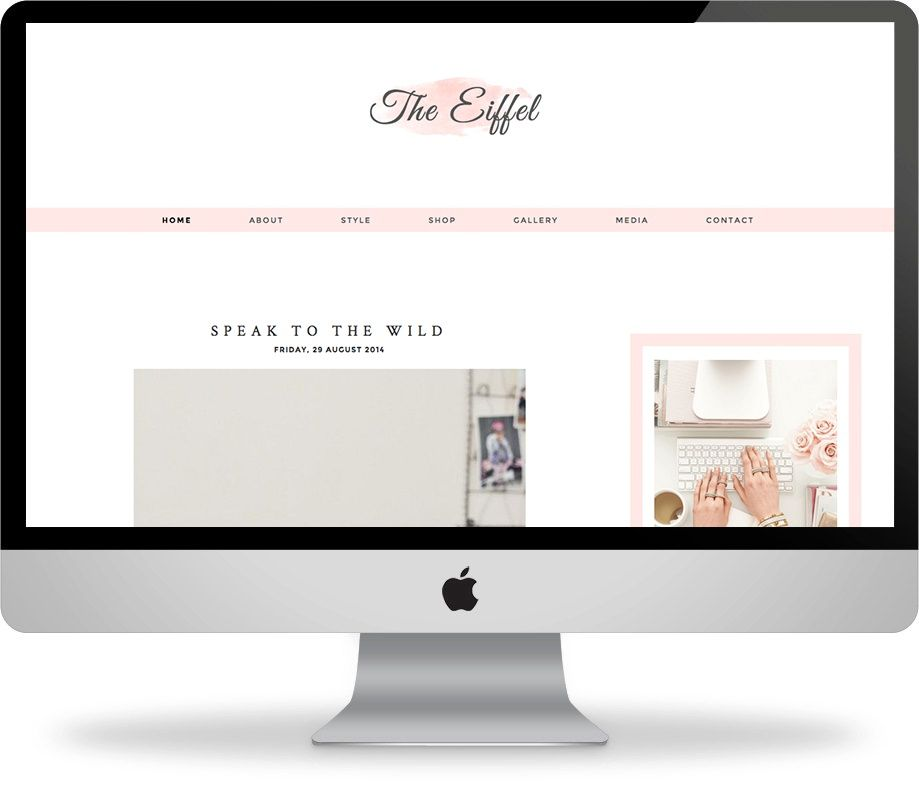 The Eiffel - Premade Blogger Template