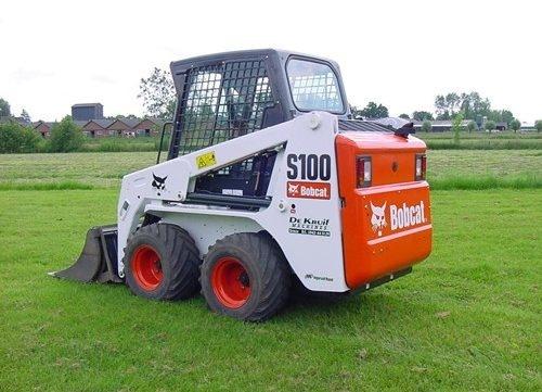 Bobcat S100 Skid - Steer Loader Service Repair Manual (S/N A2G711001,  A89L11001 & Above )