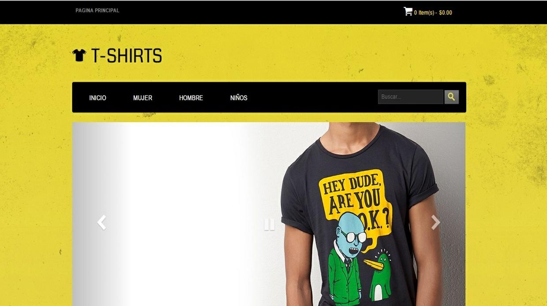 Tienda Online | Blogger Template Responsive
