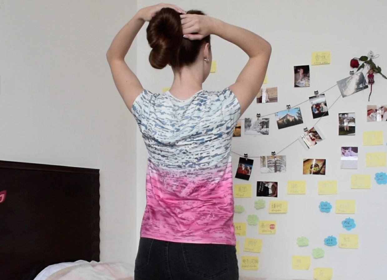 VIDEO - Irina´s thick, long silk (solo)