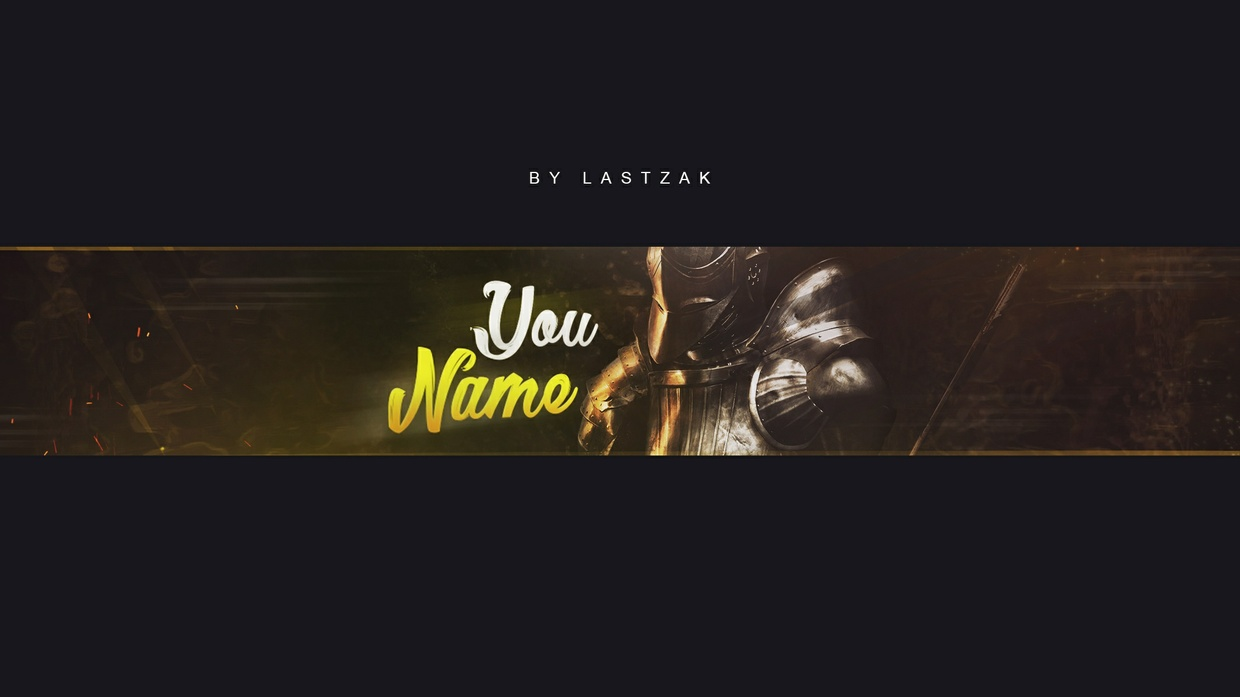Professional Gaming Youtube Banner by LastZAK