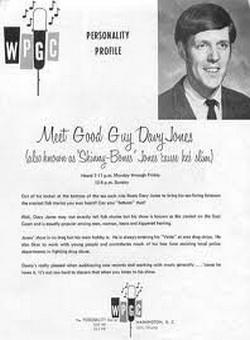 WPGC Davy Jones 3/11/70. 46 Minutes Unscoped