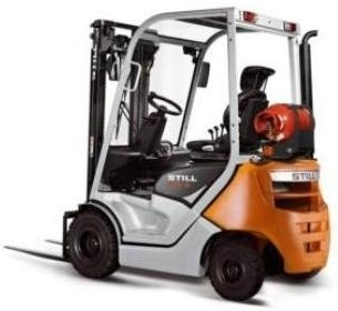 Still LPG Forklift Truck Type RC40-16, RC40-18, RC40-20: 4015, 4016, 4024 Parts Manual