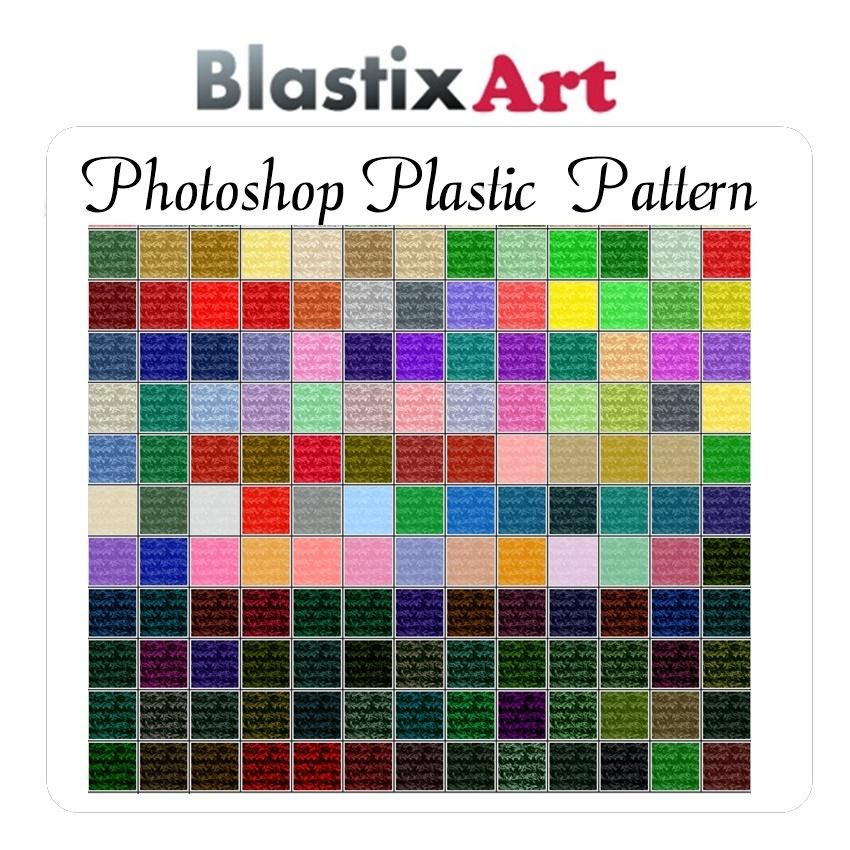 Photoshop Plastic Pattern