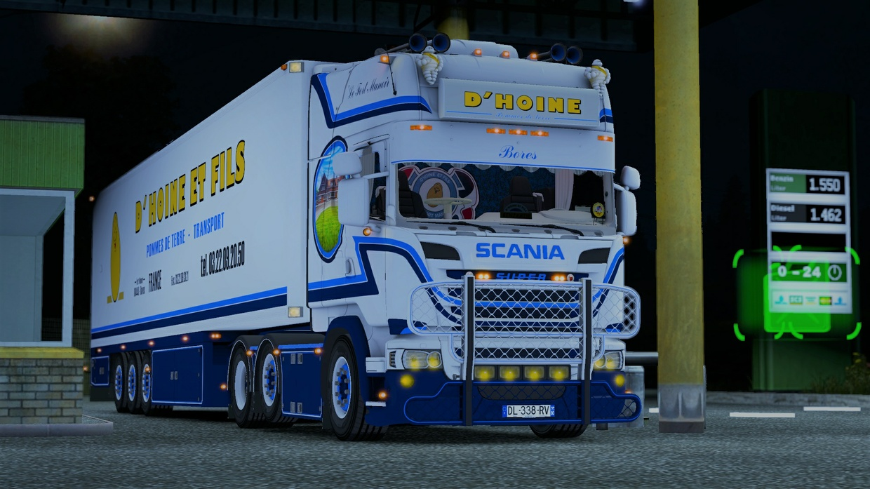 Bien connu Scania R580 V8 D'Hoine | Florian Morel - Sellfy.com HI91