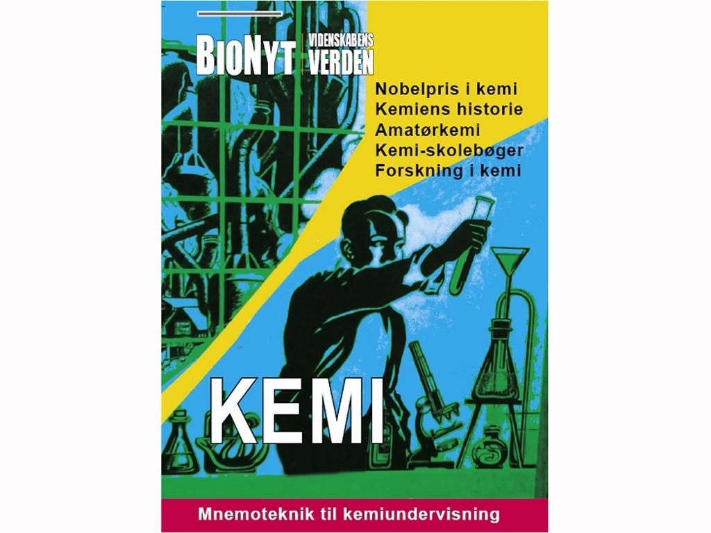 BioNyt Videnskabens Verden nr.164 om kemi. Suppleres af www.bionyt.dk/kemi [29$ = ca. 189 kr]