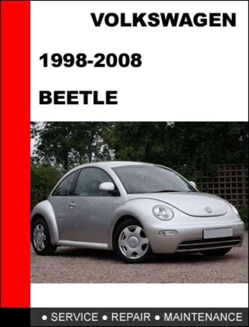VOLKSWAGEN NEW BEETLE SERVICE & REPAIR MANUAL 1998 2008