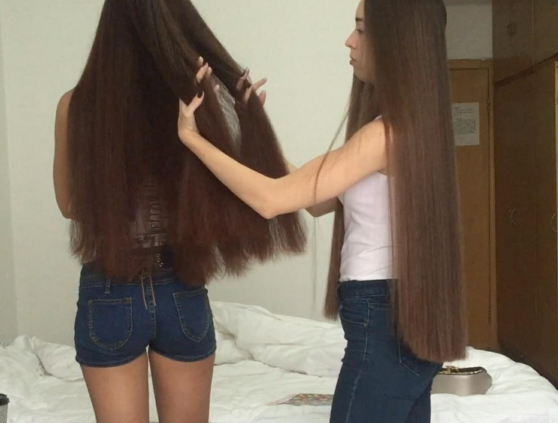video classic length hair hip length hair part 1