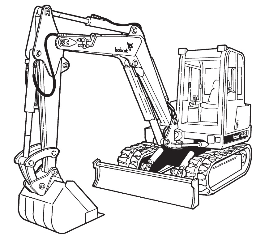 Bobcat 337 341 Compact Excavator D Series Service Repair Manual Download(S/N 233311001 & Above ...)