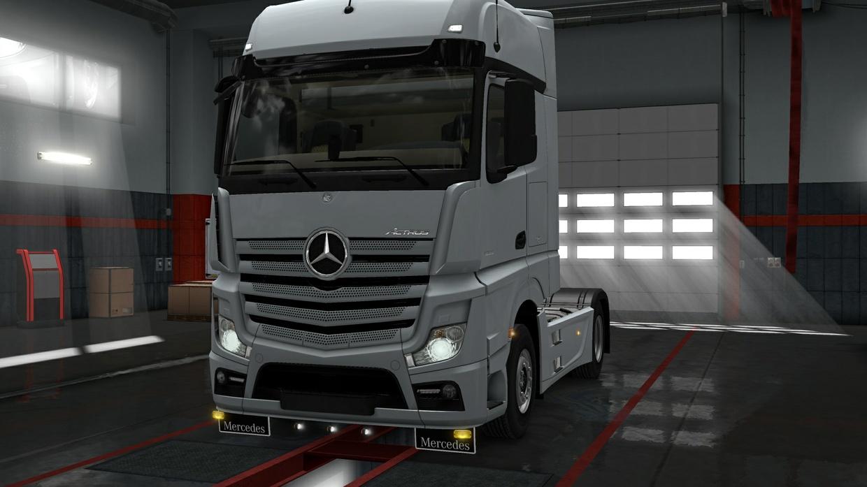 Lower Grill Guard Mercedes MPIV