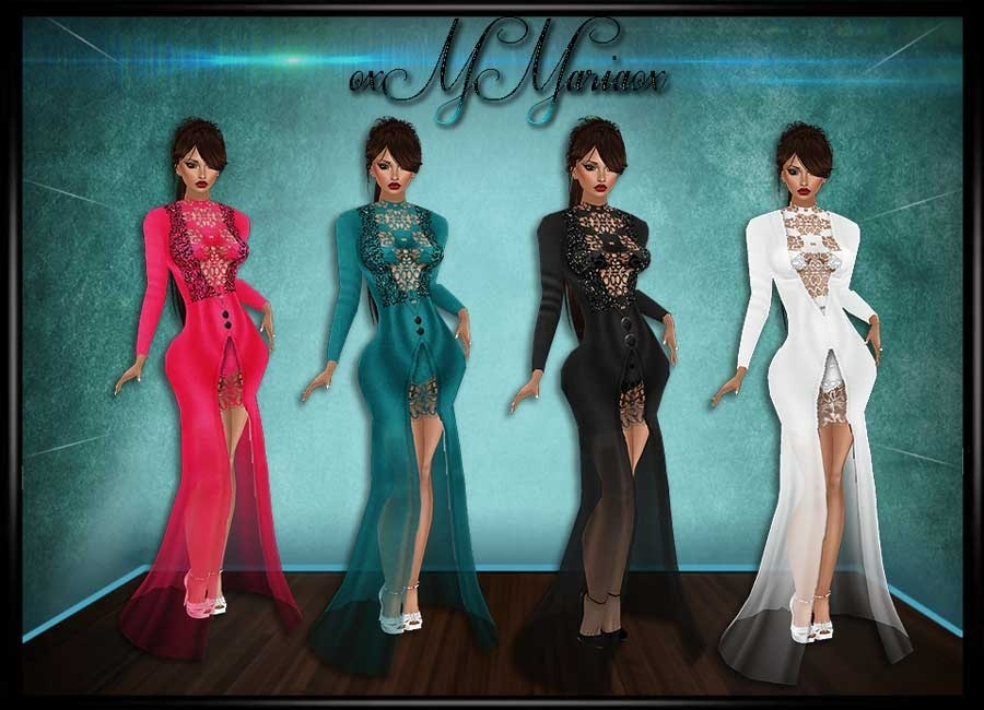 Elegante Lace Dresses with Resell!!
