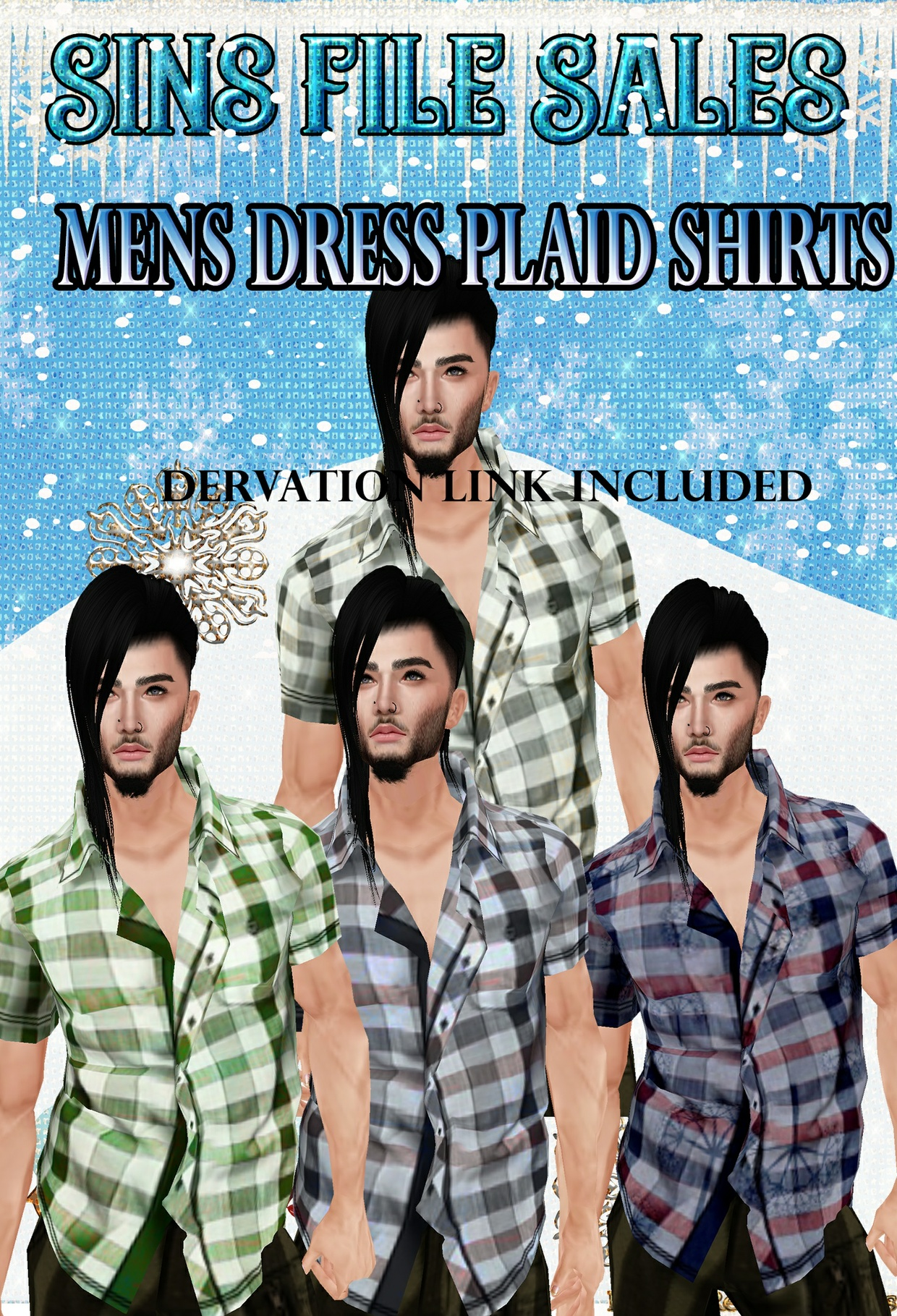 Mens Dressy Plaid Shirts