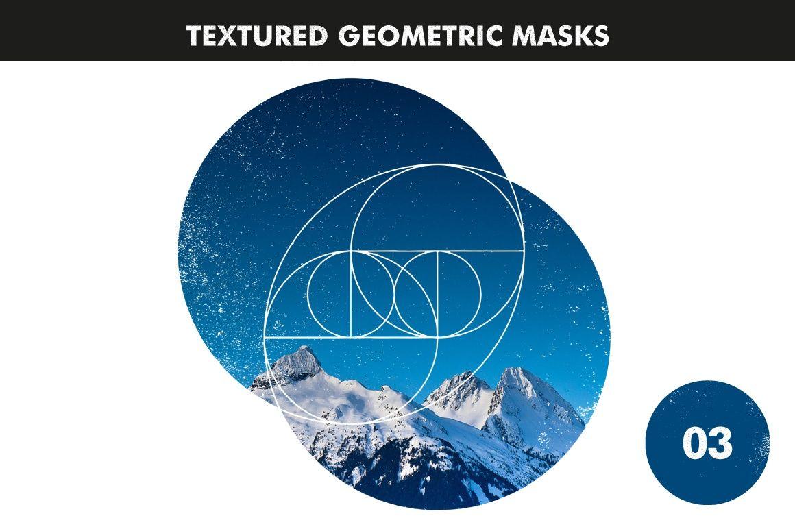 Textured Geometric Masks 03