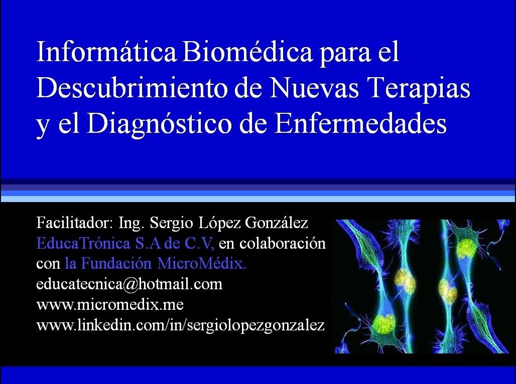 Informática Biomédica para el Descubrimiento de Nuevas Terapias y el Diagnóstico de Enfermedades
