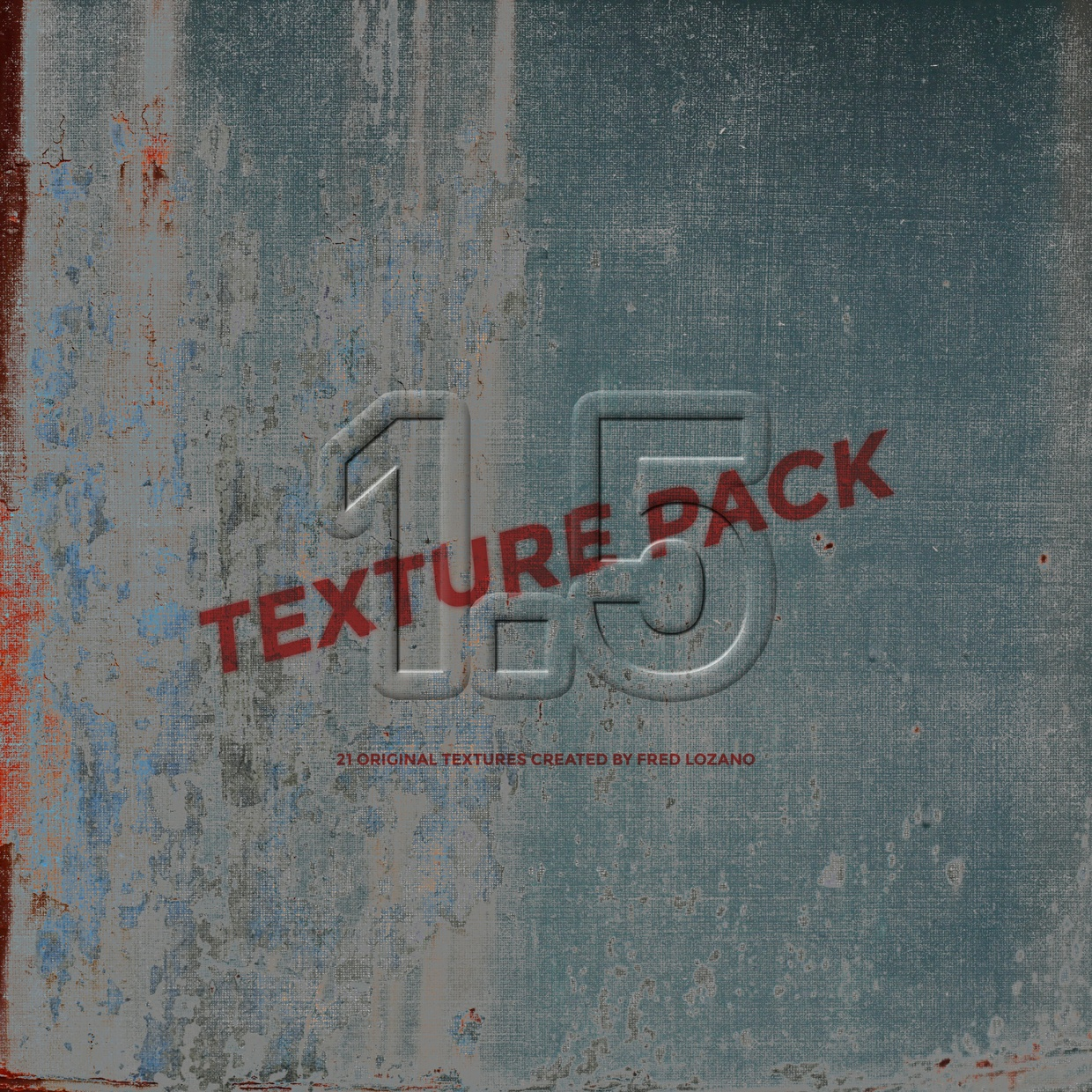 """""""Texture Pack: Volume 1.5"""" by Fred Lozano"""