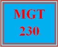 MGT 230 Week 3 SWOTT External and Internal Forces: The New Venture
