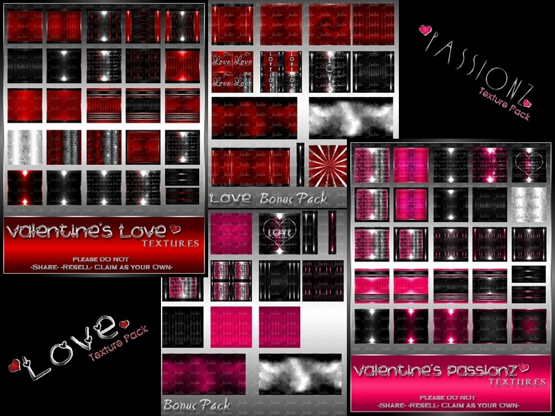 Love & Passionz Collection-- $9.00