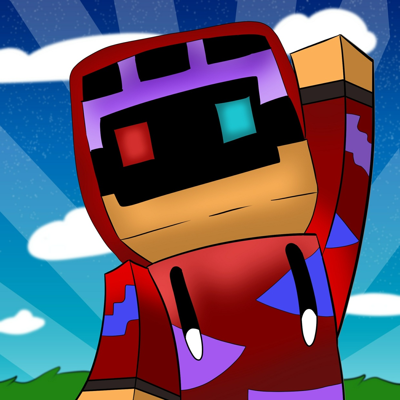 Drawn Minecraft Avatar
