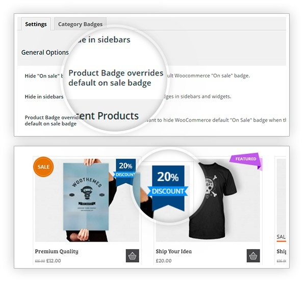 YITH WooCommerce Badge Management 1.3.6 Extension