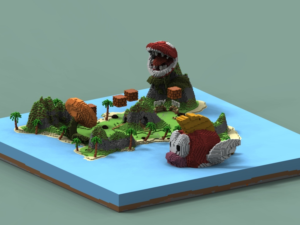 Minigames Lobby   Mario Bros   Ultra cheap